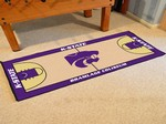 Kansas State University Wildcats Basketball Court Runner