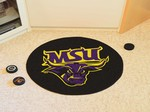 Minnesota State University Mankato Mavericks Hockey Puck Mat