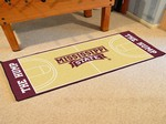 Mississippi State Bulldogs Basketball Court Runner
