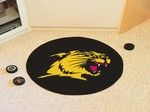 Northern Michigan University Wildcats Hockey Puck Mat