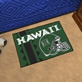 Hawaii Warriors Starter Rug - Uniform Inspired