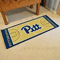 University of Pittsburgh Panthers Basketball Court Runner