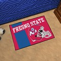 Fresno State Bulldogs Starter Rug - Uniform Inspired
