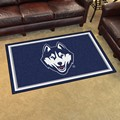 University of Connecticut Huskies 4x6 Rug
