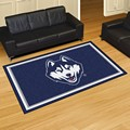 University of Connecticut Huskies 5x8 Rug