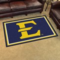 East Tennessee State University Buccaneers 4x6 Rug