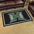 University of Hawaii Warriors 4x6 Rug