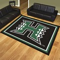 University of Hawaii Warriors 8'x10' Rug