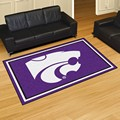 Kansas State University Wildcats 5x8 Rug