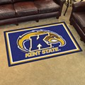 Kent State University Golden Flashes 4x6 Rug