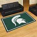 Michigan State University Spartans 5x8 Rug