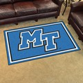 Middle Tennessee State University Blue Raiders 4x6 Rug