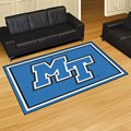Middle Tennessee State University Blue Raiders 5x8 Rug