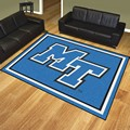 Middle Tennessee State University Blue Raiders 8'x10' Rug
