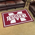 Mississippi State University Bulldogs 4x6 Rug