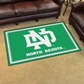 University of North Dakota athletic teams 4x6 Rug