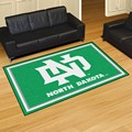 University of North Dakota athletic teams 5x8 Rug