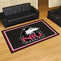 Northern Illinois University Huskies 5x8 Rug