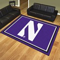 Northwestern University Wildcats 8'x10' Rug
