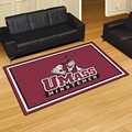 University of Massachusetts Minutemen 5x8 Rug