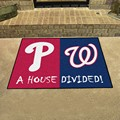 Philadelphia Phillies - Washington Nationals House Divided Rug