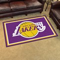 Los Angeles Lakers 4x6 Rug