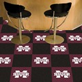 Mississippi State University Bulldogs Carpet Floor Tiles