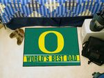 University of Oregon World's Best Dad Starter Rug