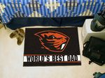 Oregon State University World's Best Dad Starter Rug
