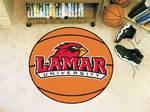 Lamar University Cardinals Basketball Rug