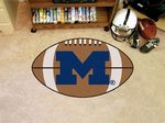 University of Michigan Wolverines Football Rug