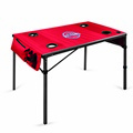 Detroit Pistons Travel Table - Red