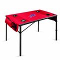 Buffalo Bills Travel Table - Red
