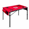 New York Giants Travel Table - Red