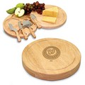 Washington Nationals Circo Cutting Board & Cheese Tools