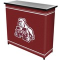 Mississippi State University Portable Bar with 2 Shelves