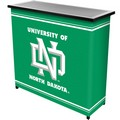 University of North Dakota Portable Bar with 2 Shelves
