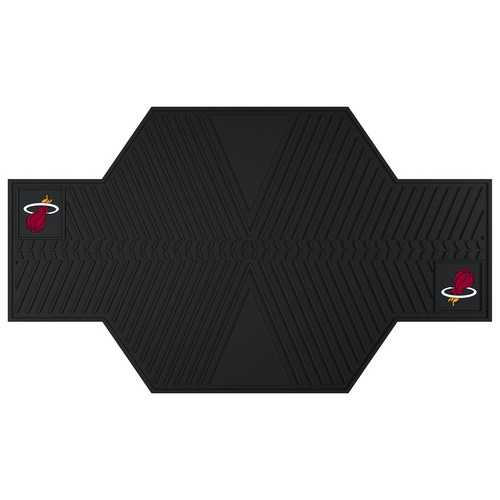 Miami Heat Motorcycle Mat - Click Image to Close
