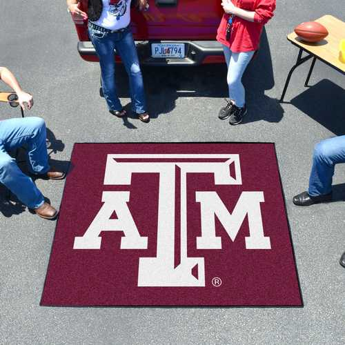 Texas A&M University Aggies Tailgater Rug - Click Image to Close