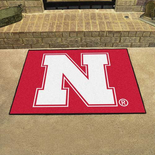 University of Nebraska Cornhuskers All-Star Rug - Click Image to Close