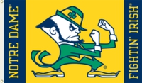 Notre Dame Fighting Irish 3' x 5' Flag - Leprechaun