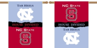 "North Carolina - NC State 2-Sided 28"" X 40"" House Divided Banner"