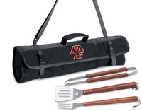Boston College Eagles 3 Piece BBQ Tool Set With Tote