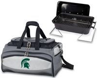 Michigan State Spartans Buccaneer BBQ Grill Set & Cooler