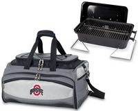 Ohio State Buckeyes Embroidered Buccaneer BBQ Grill Set & Cooler