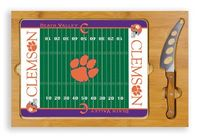 Clemson Tigers Football Icon Cheese Tray