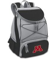 Minnesota Golden Gophers PTX Backpack Cooler - Black