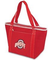Ohio State Buckeyes Topanga Cooler Tote - Red Embroidered