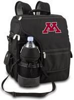 Minnesota Golden Gophers Turismo Backpack - Black Embroidered