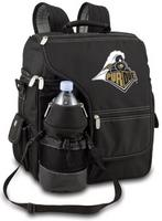Purdue Boilermakers Turismo Backpack - Black Embroidered